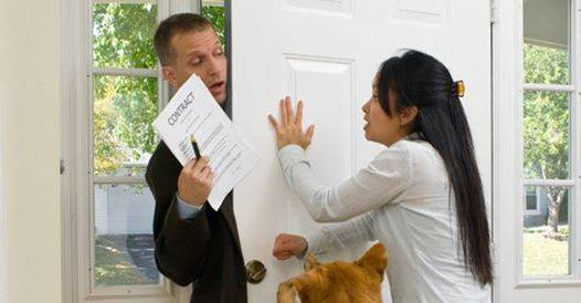 Dealing with Unwanted Solicitors?